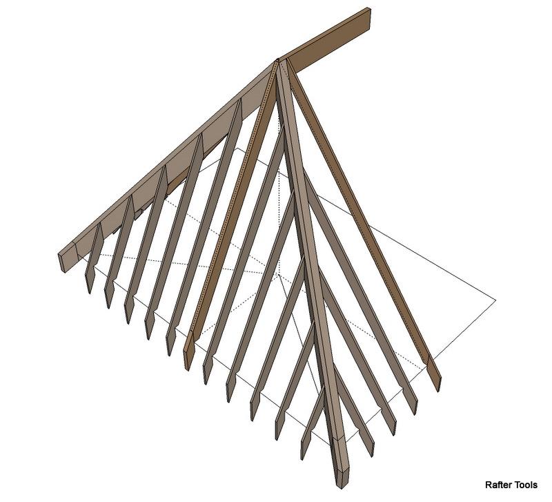 Irregular Hip Roof Rafters